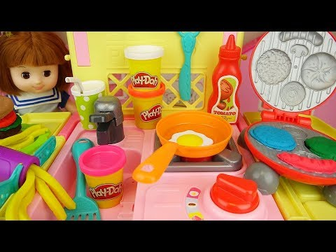 Xxx Mp4 Play Doh Burger And Baby Doll Kitchen Food Cooking Play 3gp Sex