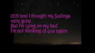 12:51 cover with lyrics