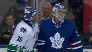 All Fights Toronto Maple Leafs   Vancouver Canucks Nov 5, 2016 line brawl