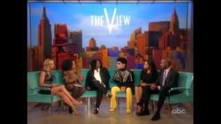 Prince, Rosario Dawson and Van Jones on The View