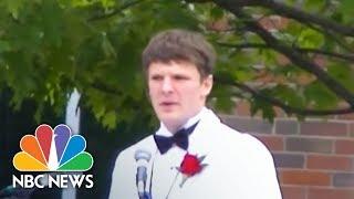Watch Otto Warmbier's High School Graduation Speech From 2013   NBC News