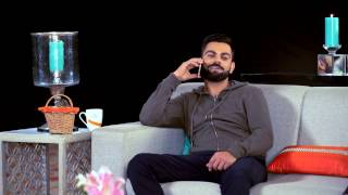 Filmy Fun With Virat - Green Tea With Gionee Episode 3