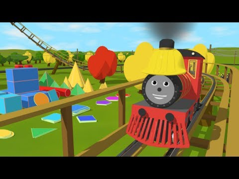 Learn about Shapes with Shawn s Roller Coaster Adventure Learn 15 2D and 3D shapes