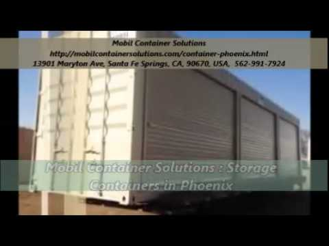Mobil Container Solutions : Storage Containers Service in Phoenix