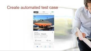 Mobile Test Automationn with Jamo Automator Webinar 4 April, 2017