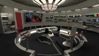 Star Trek Phase 2 refit bridge V. 2.0