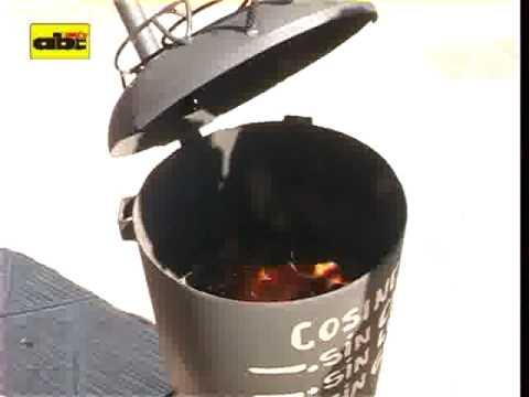 Cocina sin gas sin carbón y sin leña