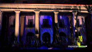 3D Building Projection for Palm Beach Centennial on the Flagler Museum