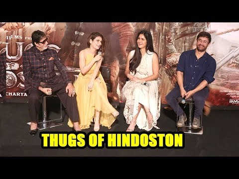 Xxx Mp4 Aamir Khan Katrina Kaif Amitabh Bachchan Fatima On Thugs Of Hindoston Trailer Launch Complete Video 3gp Sex