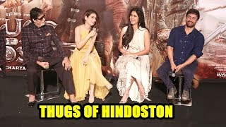 Aamir Khan,Katrina Kaif,Amitabh Bachchan,Fatima On Thugs Of Hindoston Trailer Launch Complete Video