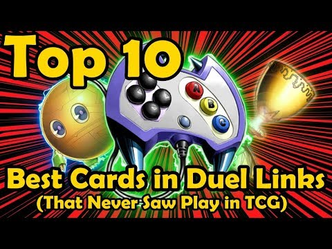 Top 10 Best Cards in Duel Links That Never Saw Play In The TCG YuGiOh
