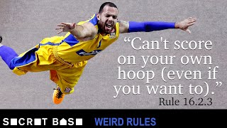 A basketball team can