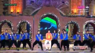 Tera dhayan kidhar hai MAI TERA HERO SONG  Varun Dhawan Performance at 20th Annual Life OK Screen Aw
