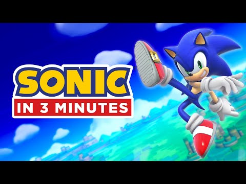 Entire Sonic Story in 3 Minutes Sonic Animation