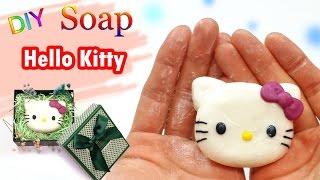 [DIY Soap hello kitty] 헬로우 키티 비누 만들기