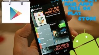 Android - How to get paid apps for FREE on Play st