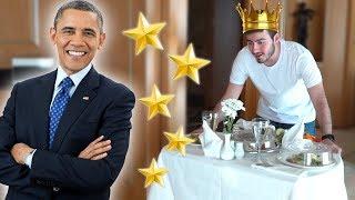 KRAL DAİRESİNDE 1 GÜN (Obama