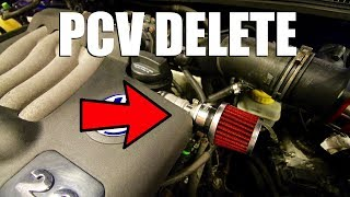 How to Install a PCV Delete