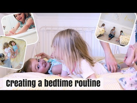 TWIN TODDLER BEDTIME ROUTINE | VLOG 131 | Nesting Story