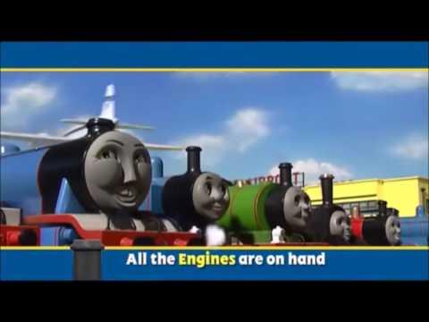 Tema de Abertura Chamando Todas as Locomotivas Thomas e seus amigos