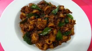 Nadan style Koonthal Roast || Kanava Roast || കൂന്തൾ റോസ്റ്റ്
