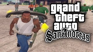 GTA San Andreas - THROW BACK THUG LIFE!