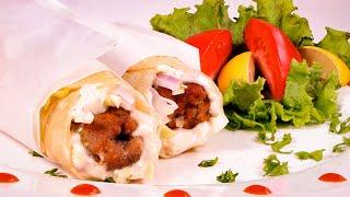 Seekh Kabab Paratha Roll Recipe (Bakra Eid Recipes) - Sooperchef