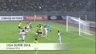 Liga Super 2014: Perak 2-1 Kelantan (8/2/14)