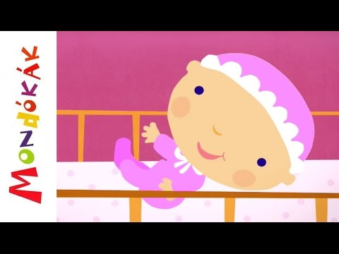 Áll a baba, áll (mondóka, rajzfilm gyerekeknek)