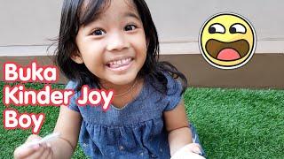 Kak Aruna Buka Kinder Joy Boy Isinya Truk - kinder joy surprise eggs