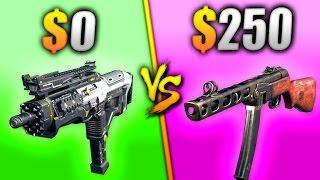 $0 vs $250 GUN - WHICH IS BETTER?