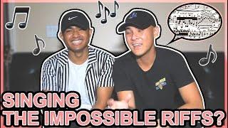 Singing the CRAZIEST Riffs!? | Riff Challenge #2