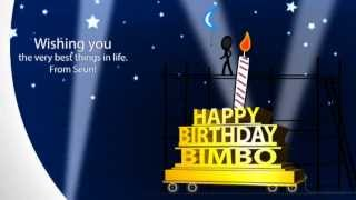 Happy Birthday Bimbo