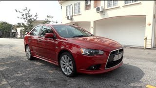 2010 Mitsubishi Lancer 2.0 GT Start-Up and Full Vehicle Tour