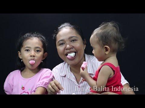 chubby bunny challenge indonesia - makan marshmallow - family fun games