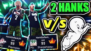 INVISIBLE GHOST/PLAYER EXPOSED BY 2 HANKS AT THE PARK • MOST UNGUARDABLE DUO + TRASH SHOOTING PATCH