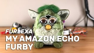 I turned a Furby into an Amazon Echo. I give you: Furlexa