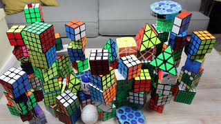 My Rubik's Cube Collection! (100+ Cubes)