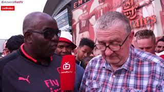 Bring In Luis Enrique He Has The Same Style Of Play! (Chris Hudson) | Arsenal 4-1 West Ham