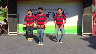 NEERAJ CHAMP  , karan and RAVI NAKLI -THE Real Dance bollywood