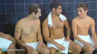 Twink in the steam room - Steam Room Stories.com