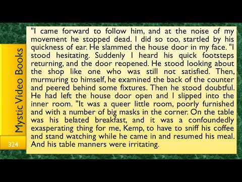 The Invisble Man by H.G. Wells (Full) with Subtitles + Text