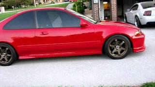 1995 Honda Civic Ex Video