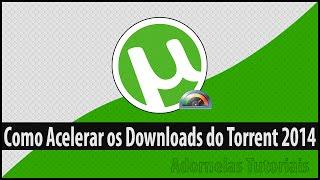 Como aumentar a velocidade de downloads do Utorrent - Sem programas