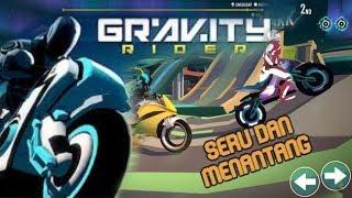 Seru Banget!!! Balapan Motor Dengan Negara Lain - Game Motor Online Gravity Rider