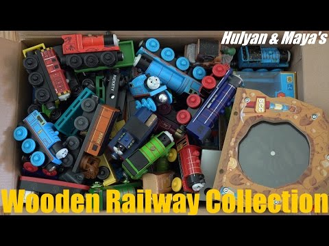 Some of Hulyan and Maya s Thomas & Friends Wooden Railway Collection