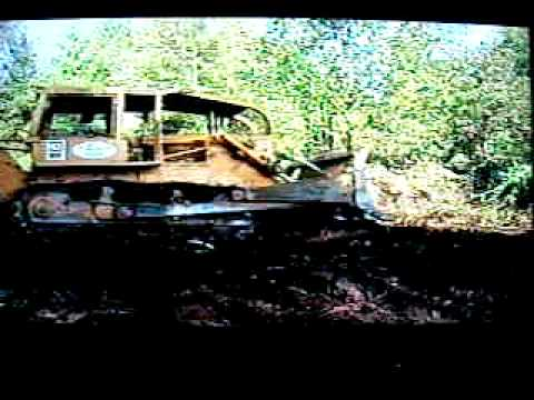 Clearing Land with 1974 D7F Cat