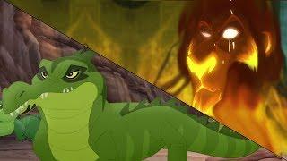 Lion Guard: Kiburi  takes over & Scar schemes | Let Sleeping Crocs Lie HD Clip