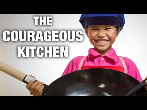The Courageous Kitchen Project (Teaching Disadvantaged Kids to Cook)