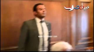 وزير التعليم يغادر المؤتمر للرد علي هاتفه